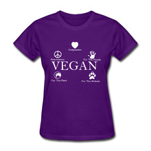 Reasons to be a Vegan – women shirt / girlie