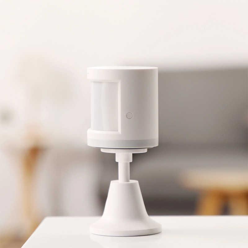 Orijinal Aqara Hub ağ geçidi insan vücudu hareket sensörü akıllı ev kiti Zigbee bağlantı ile çalışır Apple HomeKit Mijia akıllı App