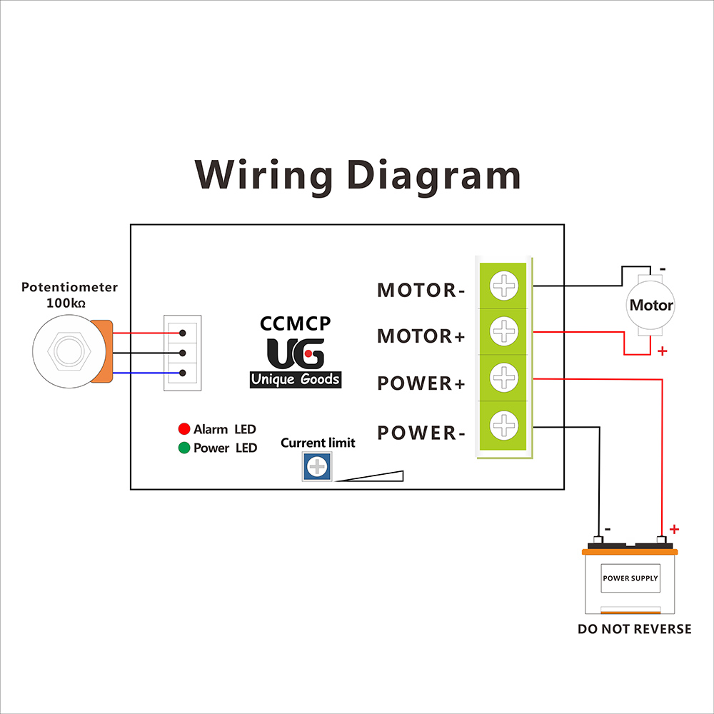 potentiometer wiring diagram motor wiring free printable wiring diagrams