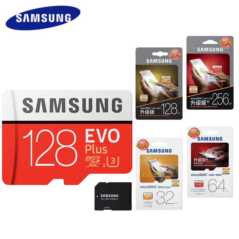 samsung micro sd card 128gb 64gb 32gb 256gb 100mb s memory. Black Bedroom Furniture Sets. Home Design Ideas