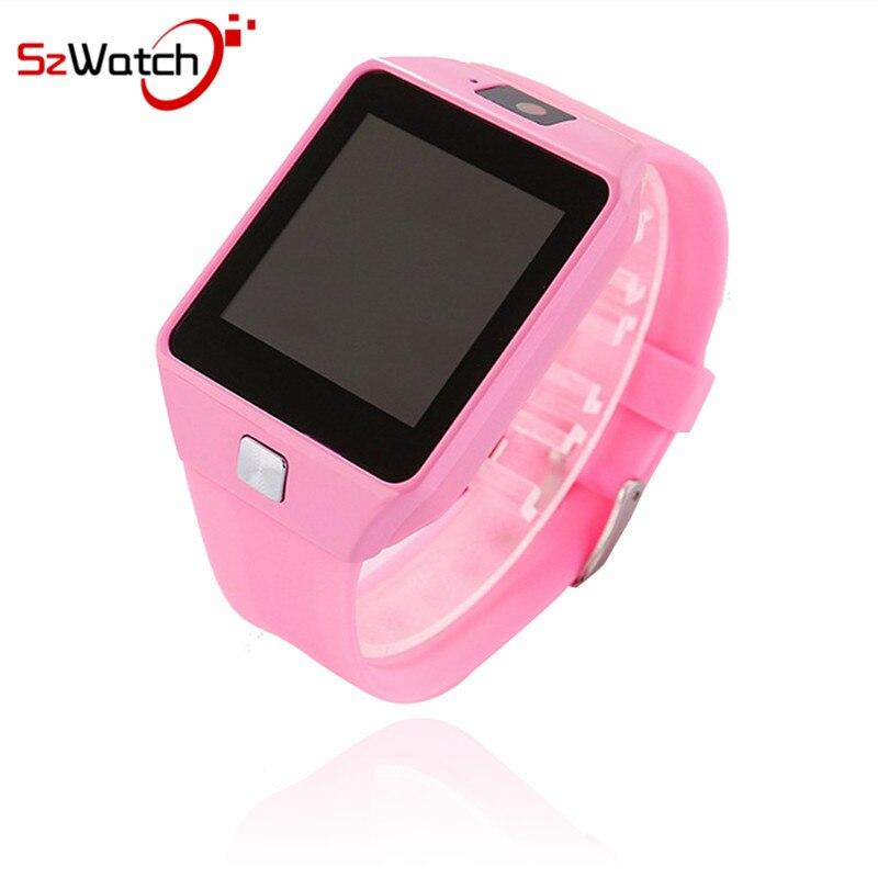 SzWatch DZ09 inteligente reloj soporte SIM TF tarjetas para Android IOS teléfono niños reloj de Bluetooth con Rusia PK a1 GT08