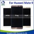 Para huawei mate 9 pantalla lcd con pantalla táctil digitalizador asamblea negro/blanco/oro/gris