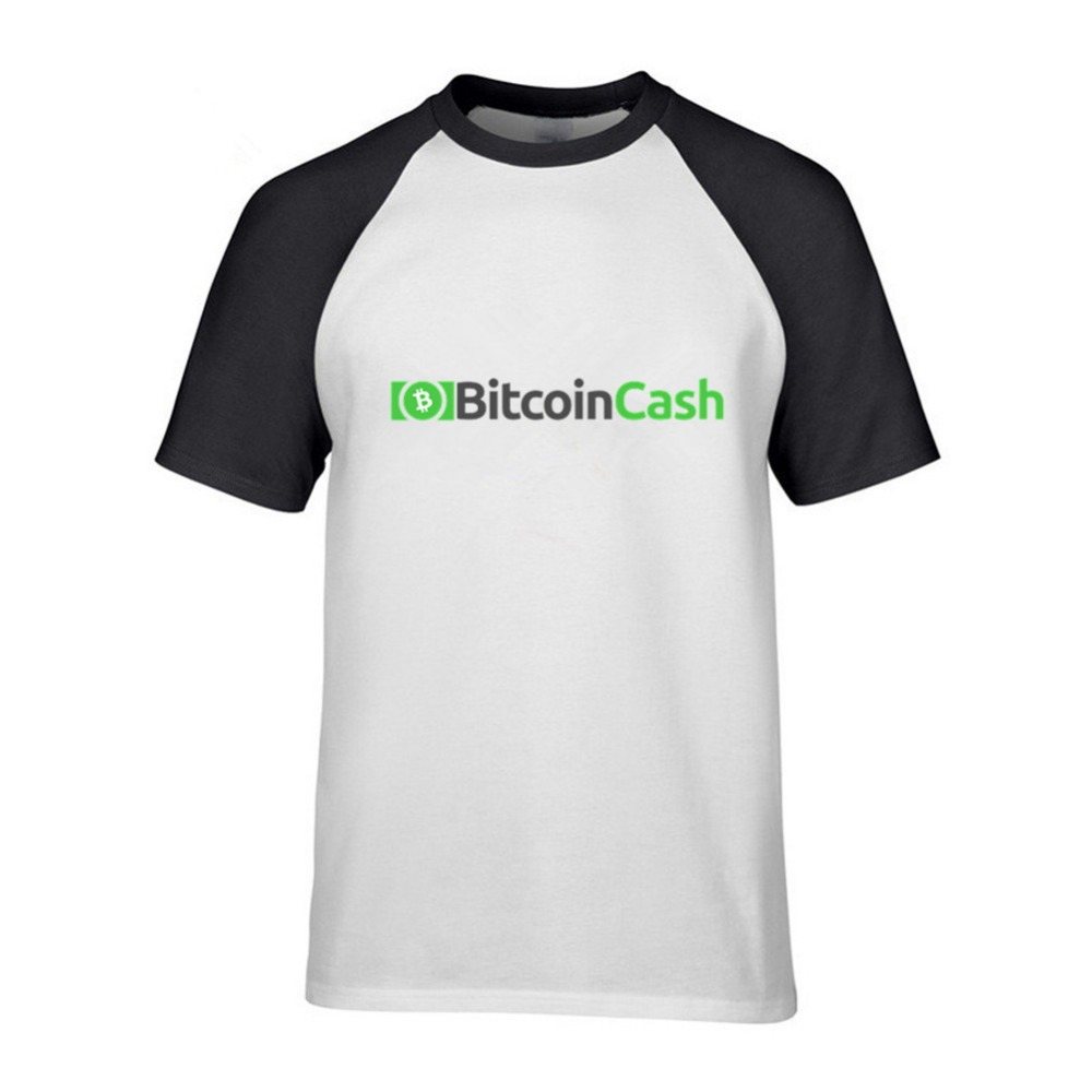 T Shirt Men CRYPTO Black Plus Size Creation Bitcoin Cash Revolution Hipster Clothing T-Shirts ...