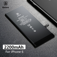 Baseus Original Phone Battery For IPhone 6 2200mAh High Capacity Replacement Batteries For IPhone 6 With