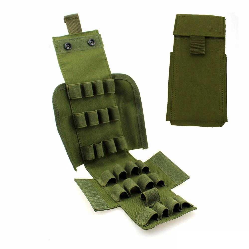MOLLE 25 Round 12 Gauge Shells Shotgun Reload Ammo Bag Magazine Pouch
