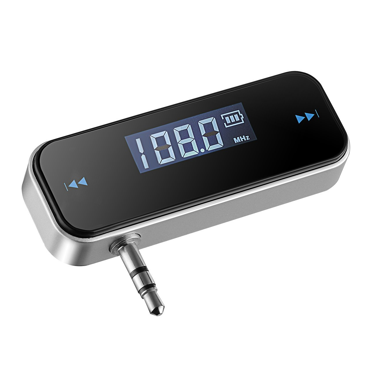 3.5mm In-car FM Transmitter Radio Adapter for iPod iPad iPhone 6 5S 5C 5 4S 4 Samsung Galaxsy S4 S3 HTC Tablet,MP3/MP4 Players image
