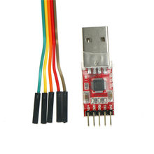 1 Pc CP2102 Module Usb Naar Ttl Seriële Converter Uart Stc Downloaden 5 Pcs Kabel(China)