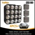 (4 шт.) с корпусом F  светодиодный светильник светодиодный  матрица 16X30W COB  трехцветный светодиодный светильник RGB для диджеев