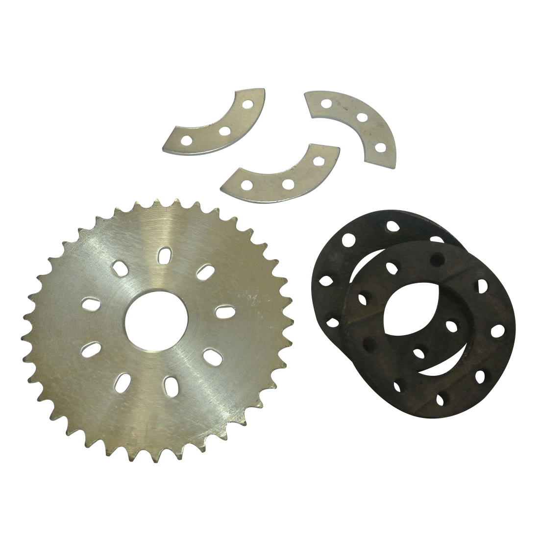 <font><b>38T</b></font> <font><b>Sprocket</b></font> & Mount Kit For 49cc 66cc 80cc Motorised Bicycle Bike Parts image