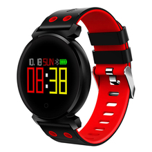 Bluetooth Smart Watch IP68 Waterproof Colorful OLED Smartwatch Blood Pressure Heart Rate Monitor For iOS Android c5 smart watch mtk2502 heart rate monitor sports clock smartwatch waterproof relogio support sim card for ios android pk amazfit