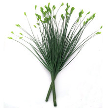5pcs Green Artificial Plant 62cm Length Simulation Plastic Grass Home Garden Wedding Decoration