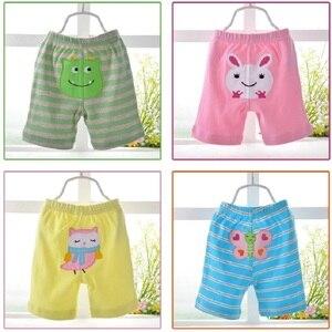 Image 4 - 2020 bebek pantolon 5 pack şort erkek külot kızlar kısa pantolon bebek kız tayt bebek giyim kız giyim