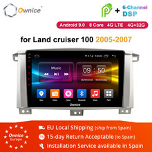 Ownice K1 K2 K3 8 Core Android 8.1 2Din Car Radio DVD GPS Navigation for Toyota Land cruiser 100 LC100 / Lexus LX470 2005 - 2007(China)