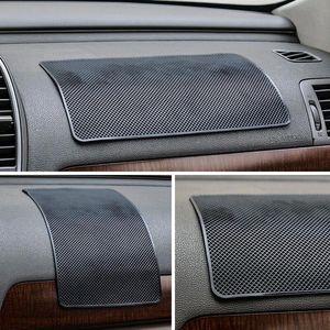 Image 5 - Auto Ornament PVC Anti Rutsch matte Sticky Pad Autos Interior Dashboard Beleg matte Für Telefon Münze Sonnenbrille Halter zubehör