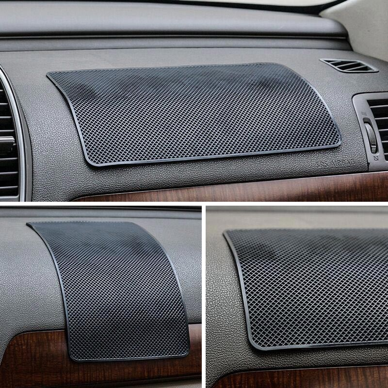 Image 5 - Car Ornament PVC Anti Slip Mat Sticky Pad Automobiles Interior Dashboard Non Slip Mat For Phone Coin Sunglass Holder Accessories-in Anti-Slip Mat from Automobiles & Motorcycles