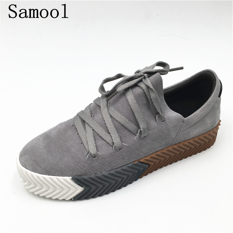 Men's Casual Flats Superstar Shoes 2018 Spring New Fashion Shoes For Mens Creeper Canvas Comfortable Chaussure Homme Rihanna fx2 cimim brand new hot sale men flats shoes fashion mens shoes casual comfortable mens shoes large sizes 38 48 superstar zapatos