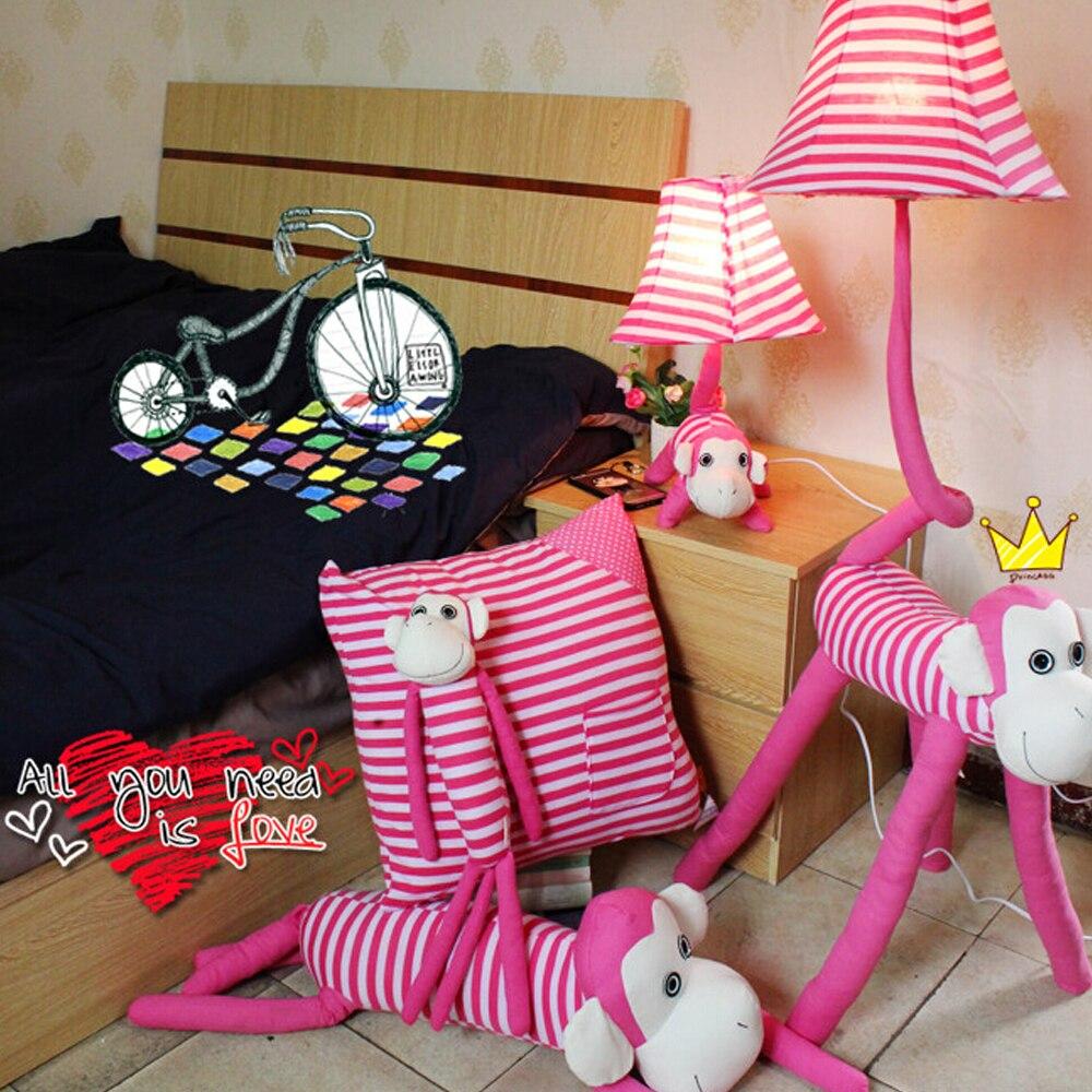 pink floor lamp