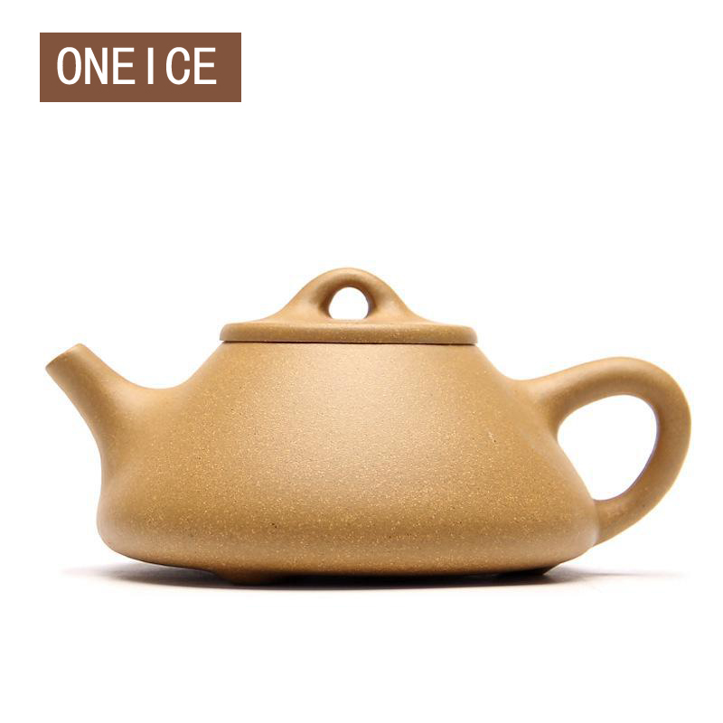 Hand Made Stone Scoop Pot (light) Old Section Of Mud Teapot Teapot Tea Set Teapots Author Fan Yueliang 210mlHand Made Stone Scoop Pot (light) Old Section Of Mud Teapot Teapot Tea Set Teapots Author Fan Yueliang 210ml