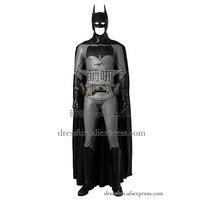 Бэтмен против Супермена: на заре справедливости Косплэй Бэтмен Брюс Уэйн костюм с накидкой черный Хэллоуин Рождество Быстрая доставка