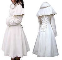 Long Sleeve White Velvet Princess Lolita Coat