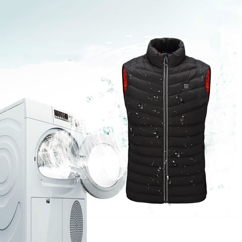2018 NEW Men Woman Heated Vest Winter Electric USB Heating Jacket For Outdoor Camping Hunting Fishing Thermal Ski Tactical Vest