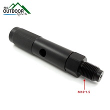 New Quick Change Adaptador Cartucho 12g CO2 com 88g Garrafa de Tópicos para Airforce Airsoft Rifle Pistola de Ar