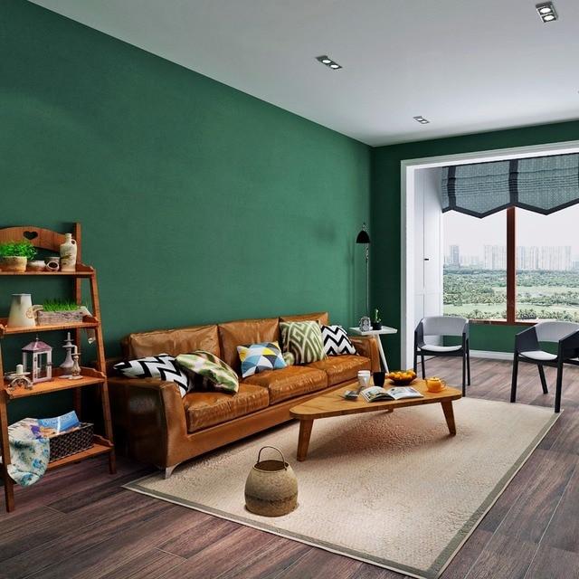 HANMERO Neueste Dunkelgrün Einfarbigen Tapeten Wasserdicht Vlies Tapeten  Für Küche Wohnzimmer Arbeitszimmer Wände QZ0072
