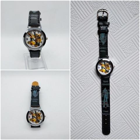 Anime Yellow Robot Transformers Children Quartz Watch Fashion Brand Kids Watches Crystal Diamond for Student Clock Dropshipping! Multan