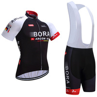 2017 Bora Cycling Jersey Breathable Bike Shorts Set Ropa Ciclismo Mens Summer Pro Bicycling Wear Ride