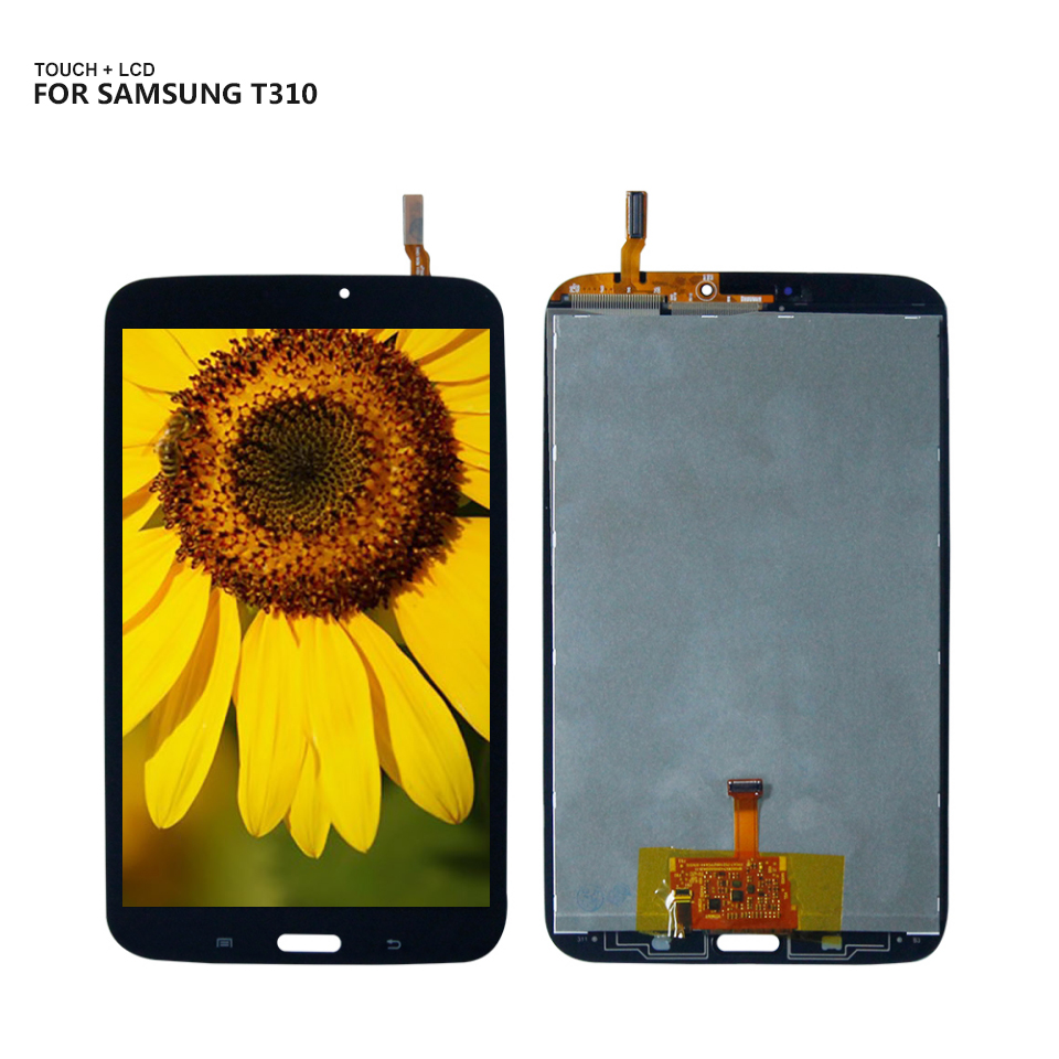 For <font><b>Samsung</b></font> Galaxy Tab 3 SM- T310 <font><b>T311</b></font> SM-T310 SM-<font><b>T311</b></font> Wifi Display Panel <font><b>LCD</b></font> Combo Touch Screen Glass Sensor Replacement Parts image