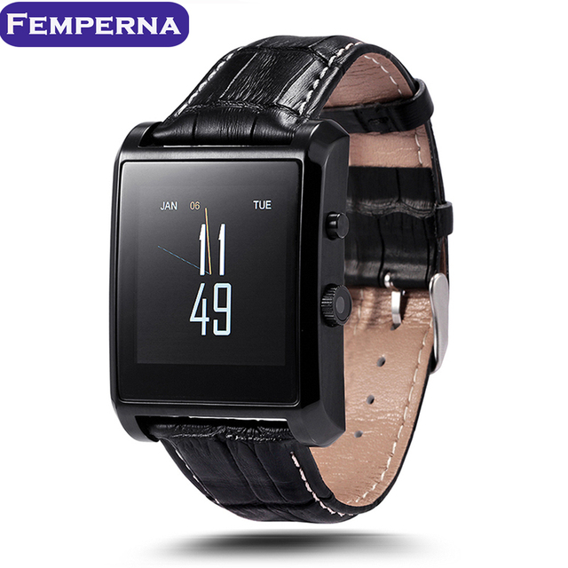 LF06 Bluetooth Smart Watch Pedometer Sleep monitoring MTK2502 Sync Phone Call Message with Camera APK for IOS Apple Smartphone