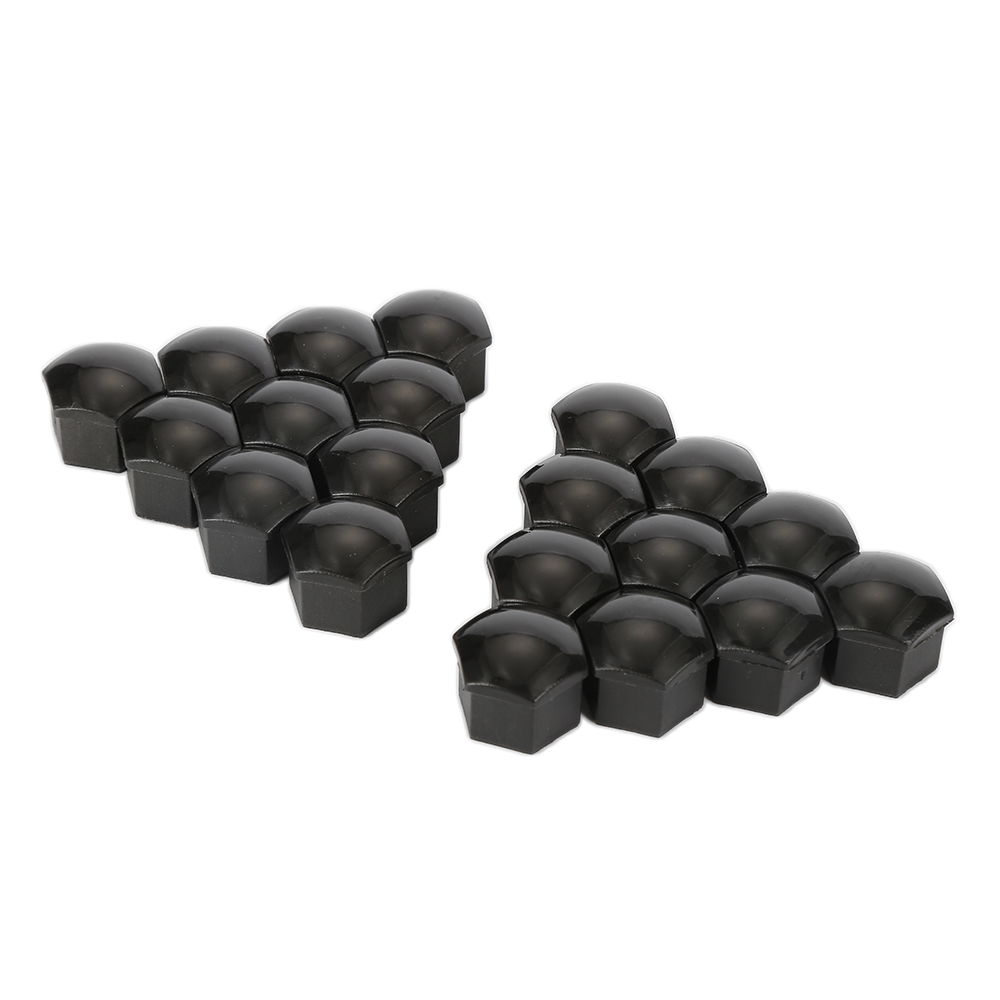 Auto Fastener & Clip Automobiles & Motorcycles Collection Here Hlest 20 Pcs Silver Gray 17mm Car Wheel Lug Bolt Nut Covers Caps Tool For Audi Hot