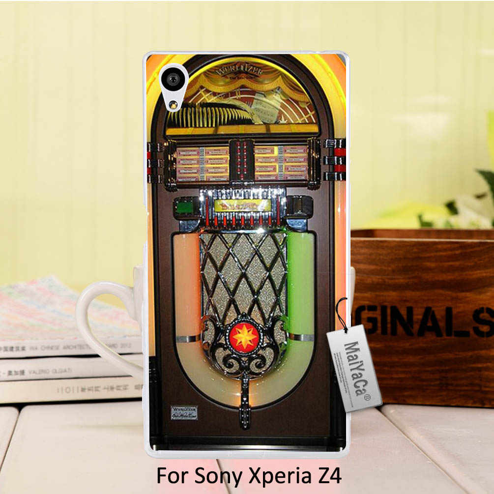 MaiYaCa High Quality phone Accessories cover Jukebox Wurlitzer For Sony z4
