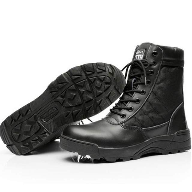 Men Tactical Waterproof Safety Boots 8