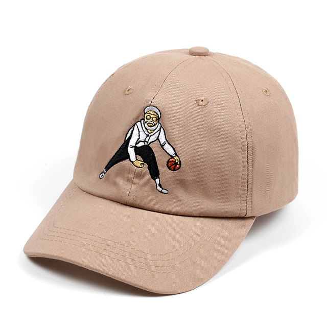 100% Cotton Uncle Drew Dad Hat Unisex Tan Basketball Comedy Baseball Cap Kyrie Irving Snapback Caps Embroidery Hip Hop Bone