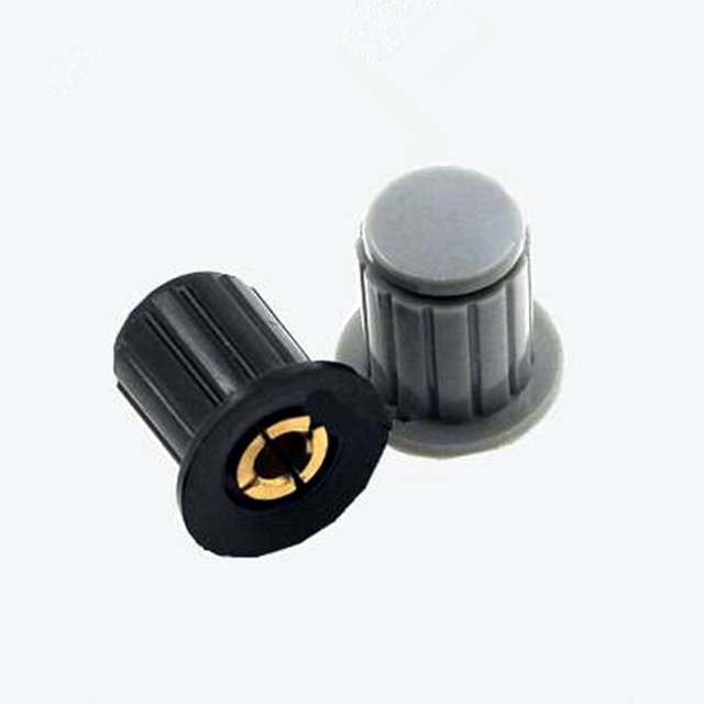 5pcs/lot WXD3-13 Black Knob Button Cap Is Suitable For High Quality WXD3-13-2W Turn Around Special Potentiometer Knob In Stock