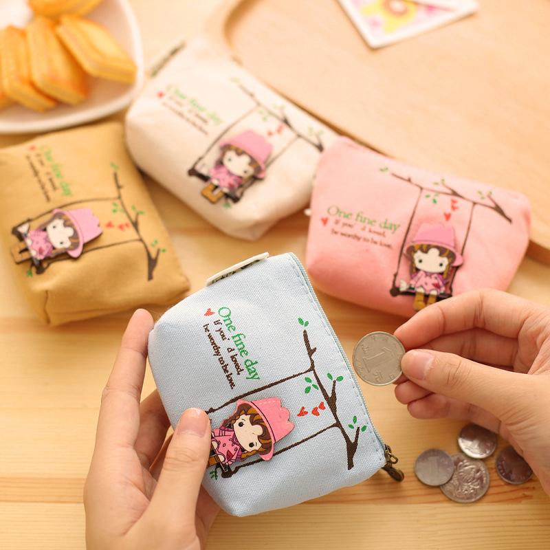 1pcs Fashion girls canvas coin purses zero wallet child girl women change purse,lady zero wallets,coin bag Free shipping 2016 coin bag creative flower women coin purses fresh syle key wallets canvas girls child gift wallets small purse b0234