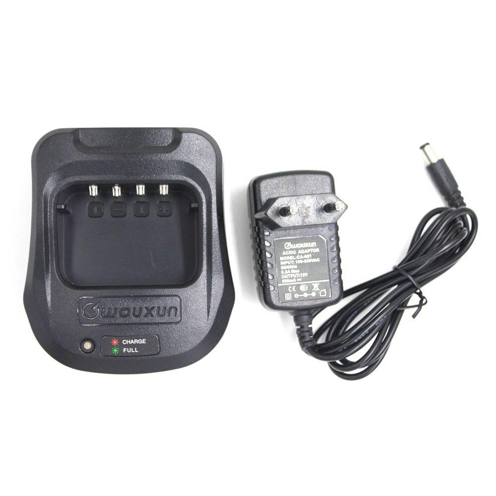 AC100-240V Desktop AC Battery Charger For Wouxun Walkie Talkie KG-UV889 KG-UV8D KG-819 KG-816
