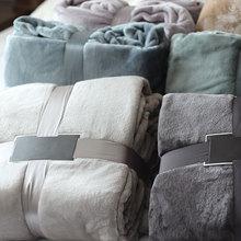 180*200 cm Espesar Manta de Franela En La Cama Muy Suave Cobertor Manta Para Cama Queen Size Cama Cubierta envío Gratis
