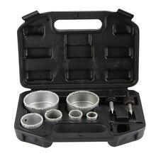 1Set 22, 28, 35, 44, 68 En 73 Mm Voor Tegel Keramische Marmer Glas Diamond Coated Hole Saw Boor Tool Set