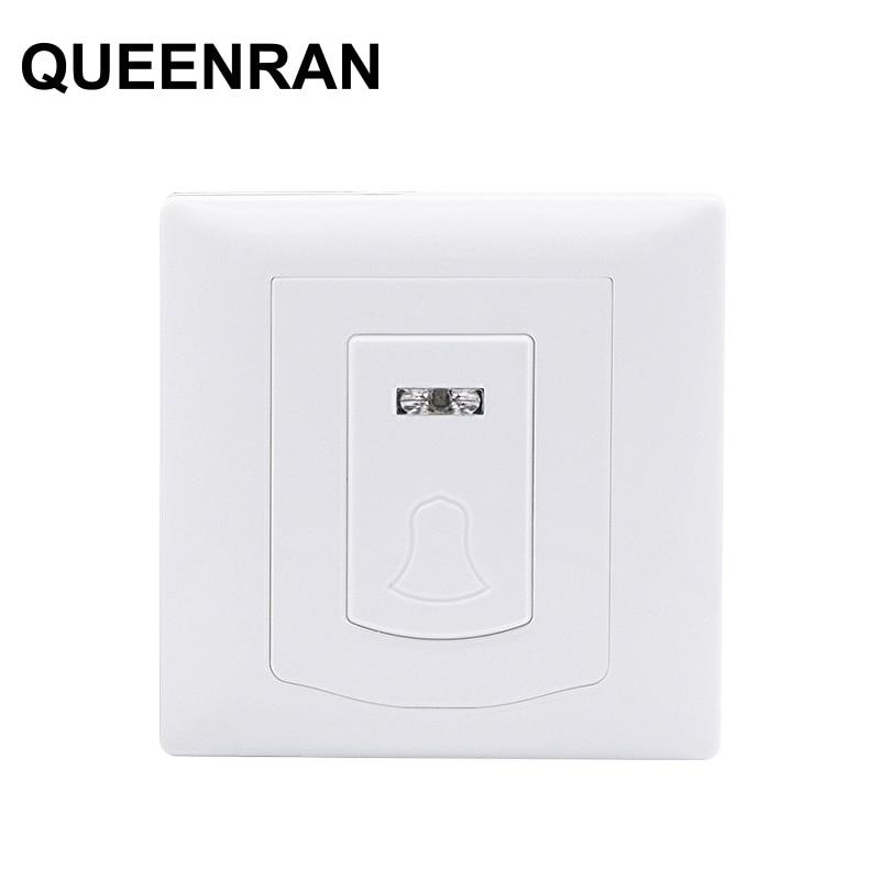 PB-206R Wireless Doorbell Door Button For 433MHz Meian Alarm System FC-300, ST-3B,ST-III,ST-V,ST-IV,ST-VGT