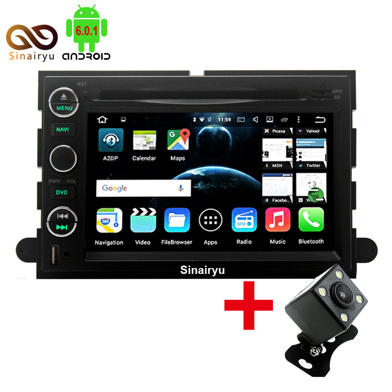 HD 1024 600 Android 6 0 1 Octa Core Car DVD Player For Ford Focus Edge