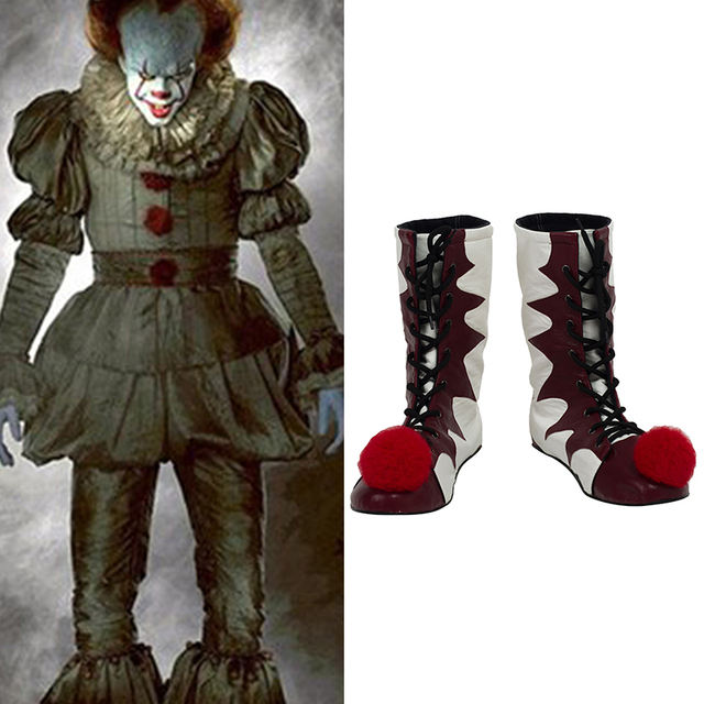 Stephen King's It Pennywise Boots Halloween Pennywise