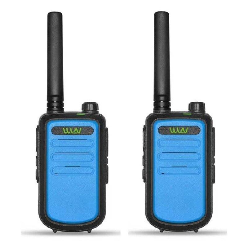 2 шт оригинальная рация wln kd c10 talkie uhf 400 470 МГц 16