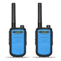 מכשיר הקשר 2pcs 100% מקורי WLN KDC10 מכשיר הקשר UHF 400-470MHz 16 אמאדור רדיו Ham ערוץ Mini שני הדרך רדיו תחנת FMR PMR KDC10 (4)