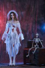 New Halloween Cosplay Bloody Mary Ghost Bridal Costumes Bar Nightclub Masquerade майка print bar bloody chronicle