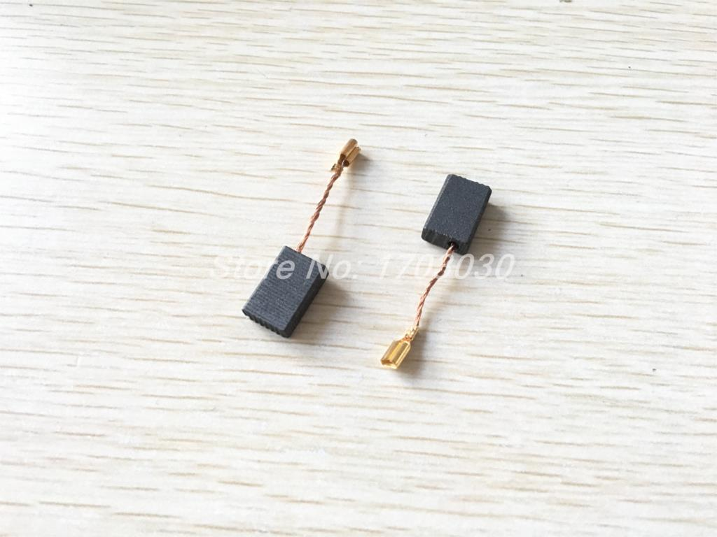10 Pair Power Tool 15mm X 10mm X 5mm Carbon Motor Brushes Spare Part