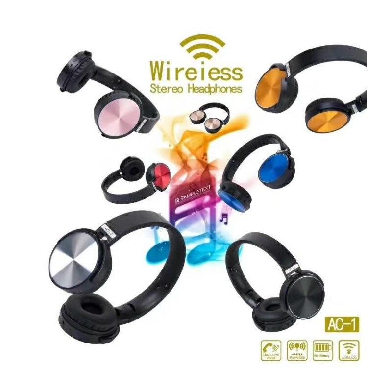 Version 4.2 Bluetooth Headband Headphones With Mic Noise Cancelling Wireless Headset For Sport Calling Music Play Kulaklik