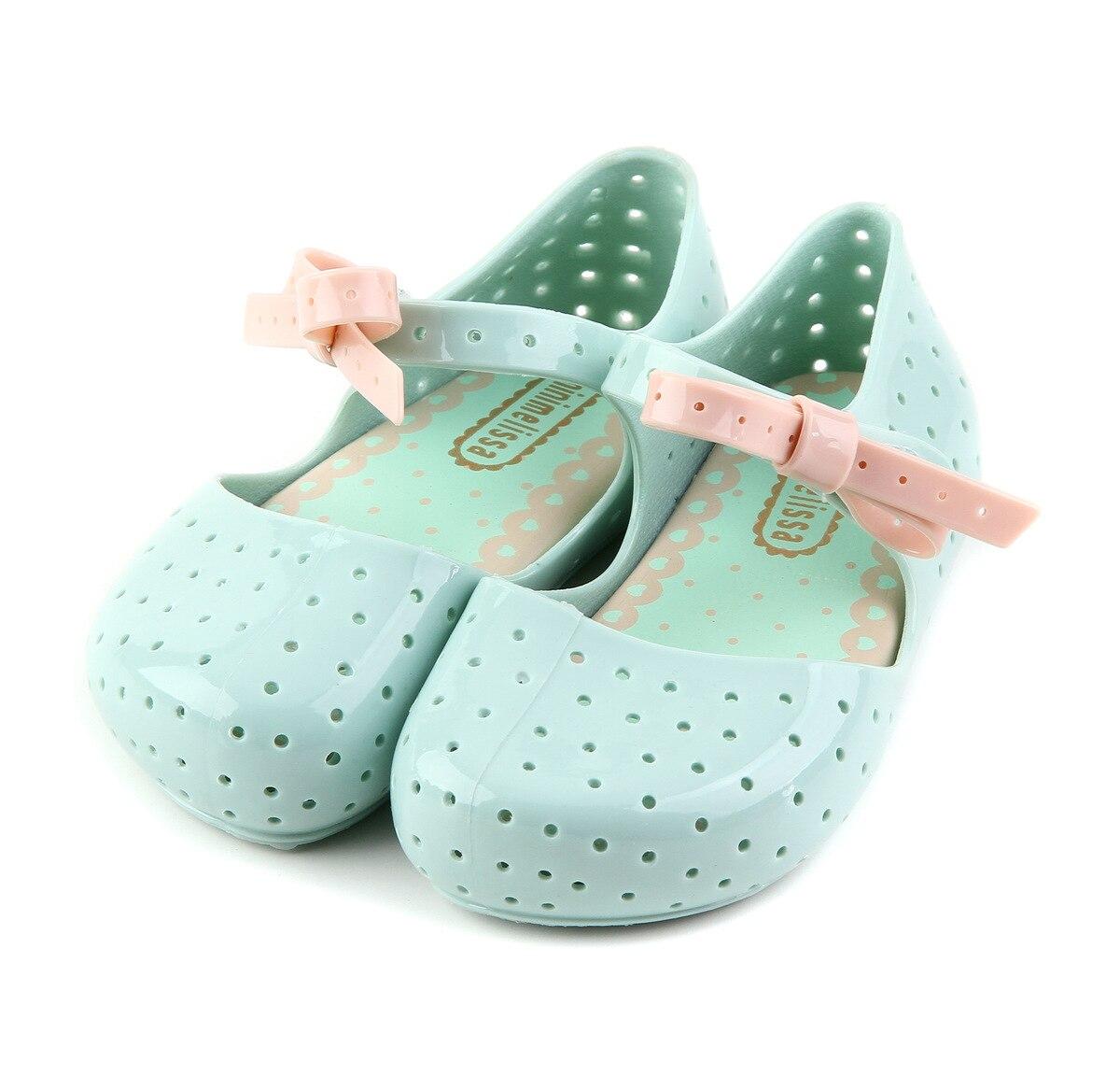 ccc0bc826979 Mini-Melissa-Children-Fashion-Summer-Kids-Casual-Hollow-Dot-Bow-Cute- Princess-Princess-Beach-Clogs-Mules.jpg