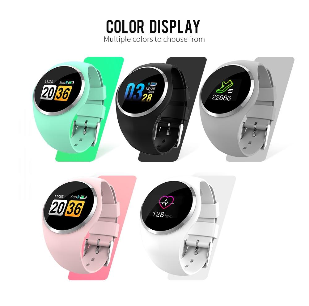 CYUC Q1 Smart Wristband Color LCD Screen Blood Pressure Heart Rate Monitor smart band Fitness Tracker Smart Bracelet ladies 3